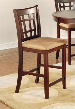 Dark Cherry Counter Height Dining Set Lavon Collection,100888N by coaster furniture,100889N coaster