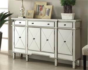 Mirrored Buffet Cabinet 102595 by Coaster Furniture