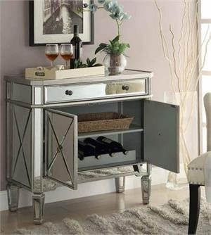 Mirrored Cabinet ,102596 coaster