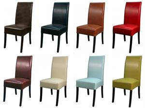 Valencia Leather Side Chair Item 108239B