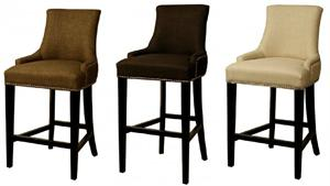 Charlotte Fabric Bar Stool