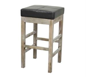 Valencia Square Backless Counter Stool Mystique Gray Legs