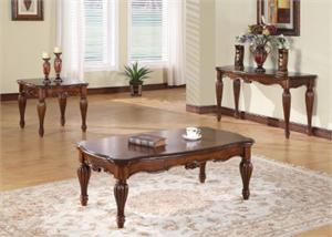 Dreena Coffee Table Set,10290 acme,10291 acme,10292 acme,traditional coffee table set