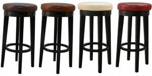 Cameron Round Swivel Counter Stool by New Pacific Direct item 118630