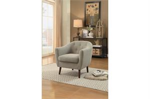 Beige Accent Chair,1192be homelegance