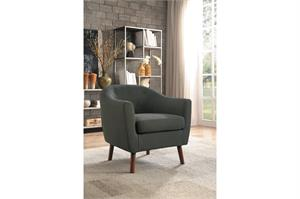 Grey Accent Chair ,1192gy homelegance