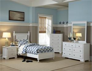Youth Bedroom Set - White Morelle Collection,homelegance 1356W