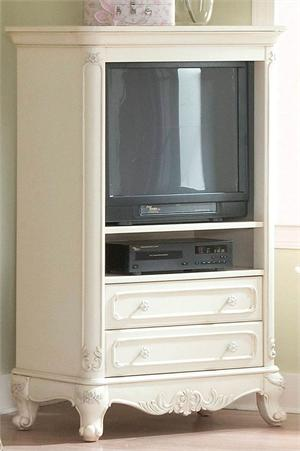 TV Armoire Cinderella Collection,1386-7 homelegance, ecru finish