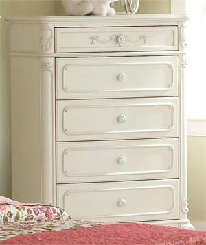 Chest Cinderella Collection,1386-9 homelegance,ecru finish