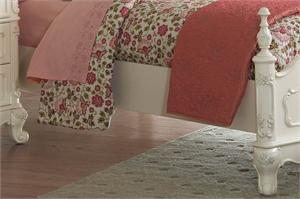 Cinderella Collection Youth Bedroom,homelegance, ecru finish