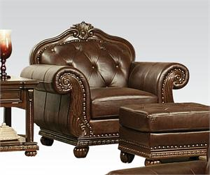 Anondale Acme Top Grain Leather Sofa Set,15030 acme,15031 acme,15032 acme,15034 acme,leather sofa,traditional acme sofa,top grain leather sofa