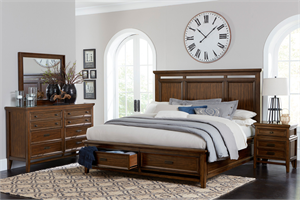 Frazier Park Bedroom Set by Homelegance Item 1649