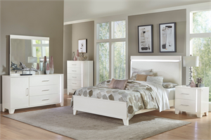 Kerren Bedroom Set by homelegance Item 1678