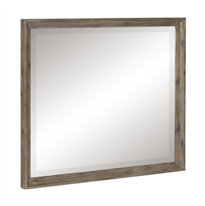 Cardano Mirror Light Brown Finish by Homelegance Item 1689BR-6
