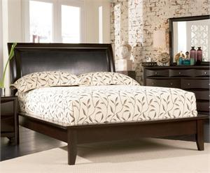 Espresso Platform Bed - Pheonix Collection item 200410 by Coaster Furniture
