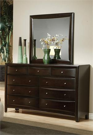 Espresso Dresser - Pheonix Collection item 200413 by Coaster Furniture