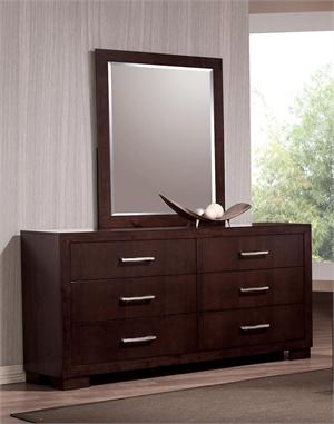 Dresser & Mirror Jessica Collection by Coaster Furniture item 200713 & 200714