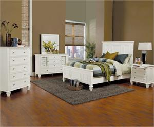 sandy beach white bedroom collection item 201301 by coaster furniture