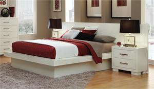 White Jessica Bedroom Set by Coaster item 202990