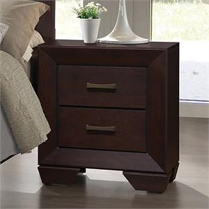 Fenbrook Dark Cacao Finish - Nightstand by Coaster Furnituree Item 204392