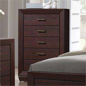 Fenbrook Dark Cacao Finish - Chest by Coaster Furnituree Item 204395