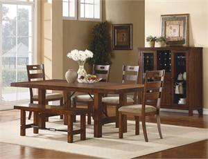 Clayton Collection -Dining Table, Side Chair,Bench and Sertver
