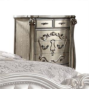 Versailles Collection Antique Platinum Finish Chest 26846