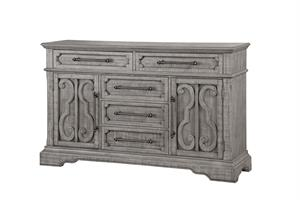 Artesia Collection Salvaged Natural Finish Dresser by Acme 27095
