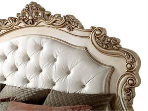 Gorsedd Collection Antique White Finish Bed by Acme