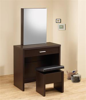 2 Piece Vanity Set Item # 300289,by coaster,cappuccino finish