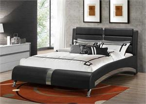 Jeremaine Upholstered Bed,coaster Jeremaine Upholstered Bed,300350 coaster,300350,300350Q,300350KE,300350KW