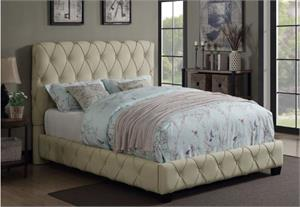 Elsinore Upholstered Bed,300684 coaster