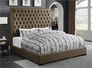 Camille Upholstered Bed,300721 coaster