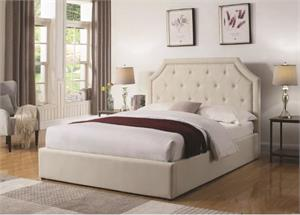 Hermosa Storage Upholstered Bed,301469 coaster,storage bed