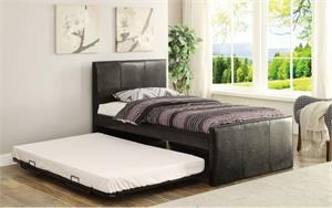 Jandale Twin Bed with Pop Up Trundle,30480 acme,30480t acme,