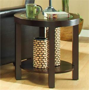 End Table Brussel Collection Item 3219PU-04 by Homelegance