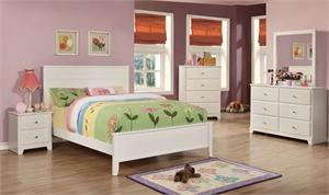 White Platform Ashton Kids Bedroom Collection400761T coaster,400761F coaster,400762coaster,400763 coaster,400764 coaster,400765 coaster