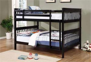 Chapman Full/Full Bunk Bed with 2 Full Mattress,460359 coaster