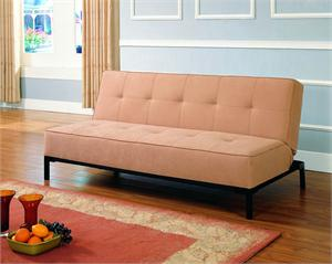 Click-Clack Tan Futon Serene Collection Style 5801