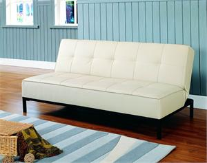 Click-Clack Ivory Futon Serene Collection Style 5801RV