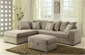 Taupe Olson Reversible Sectional Coaster 500044,500044 coaster furniture,500085 coaster