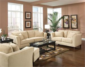 Cream Park Place Living Room Collection by Coaster item 500231