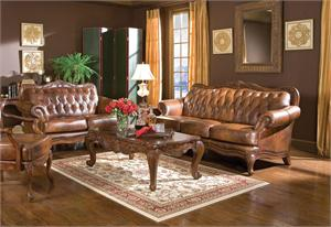 Victoria Traditional Sofa Set 500681,500681 coaster,500682 coaster,500683 coaster