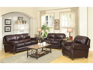 Lockhart Leather Sofa Set Collection,504691 coaster