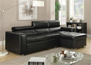 Aidan Sectional with Pull-Out Bed,51640 acme