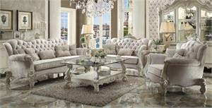 Versailles Ivory Sofa Set Colection 52105 Acme,52105 acme,52106 acme,52107 acme