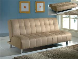 Microfiber Futon - Cayman Collection by Crown Mark item 5230