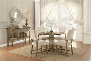 Veltry Round Dining Collection,5328 homelegance