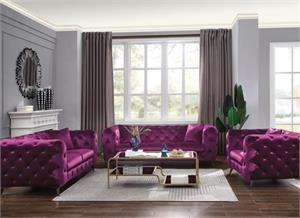 Astronia Purple Sofa Collection