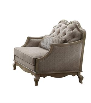Chelmsford Collection Antique Taupe Chair by Acme 56052